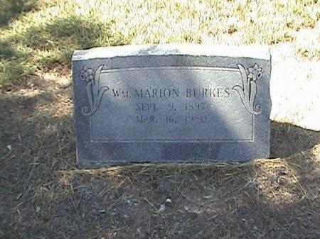 BURKES, WILLIAM MARION - Falls County, Texas   WILLIAM MARION BURKES - Texas Gravestone Photos