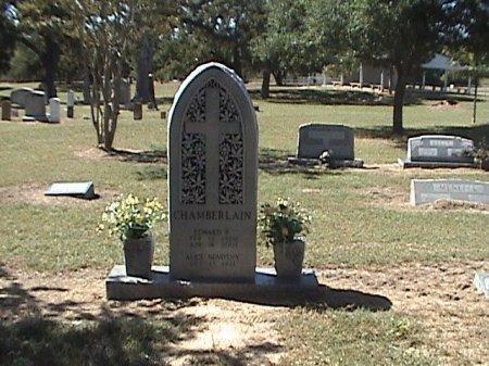 CHAMBERLAIN, EDWARD P. - Falls County, Texas | EDWARD P. CHAMBERLAIN - Texas Gravestone Photos