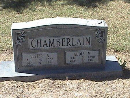 CHAMBERLAIN, LESTER A. - Falls County, Texas | LESTER A. CHAMBERLAIN - Texas Gravestone Photos
