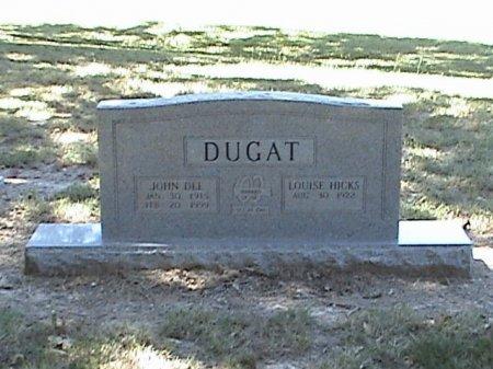 DUGAT, JOHN DEE - Falls County, Texas | JOHN DEE DUGAT - Texas Gravestone Photos