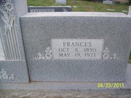 FALSONE, FRANCES  (CLOSEUP) - Falls County, Texas | FRANCES  (CLOSEUP) FALSONE - Texas Gravestone Photos