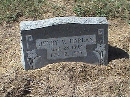 HARLAN, HENRY V. - Falls County, Texas | HENRY V. HARLAN - Texas Gravestone Photos