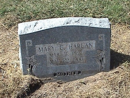 HARLAN, MARY C. - Falls County, Texas | MARY C. HARLAN - Texas Gravestone Photos