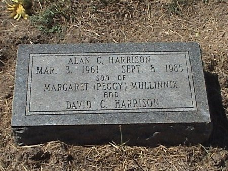 HARRISON, ALAN C. - Falls County, Texas | ALAN C. HARRISON - Texas Gravestone Photos