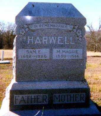 HARWELL, SAMUEL E - Falls County, Texas | SAMUEL E HARWELL - Texas Gravestone Photos