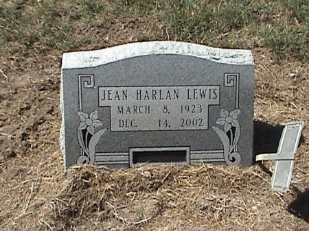 LEWIS, JEAN HARLAN - Falls County, Texas | JEAN HARLAN LEWIS - Texas Gravestone Photos