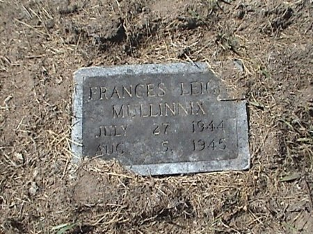 MULLINNIX, FRANCES LEIGH - Falls County, Texas | FRANCES LEIGH MULLINNIX - Texas Gravestone Photos