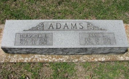 ADAMS, HERSCHEL E. - Fannin County, Texas | HERSCHEL E. ADAMS - Texas Gravestone Photos