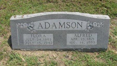 FORREST ADAMSON, FLORA - Fannin County, Texas | FLORA FORREST ADAMSON - Texas Gravestone Photos