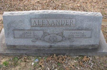 ALEXANDER, JAMES C. - Fannin County, Texas | JAMES C. ALEXANDER - Texas Gravestone Photos