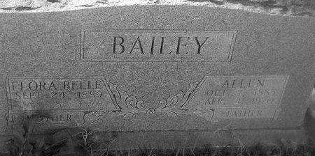 FIELDS BAILEY, FLORA BELLE - Fannin County, Texas | FLORA BELLE FIELDS BAILEY - Texas Gravestone Photos