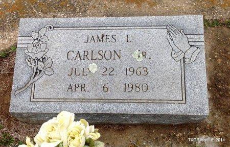 CARLSON, JR., JAMES L. - Fannin County, Texas   JAMES L. CARLSON, JR. - Texas Gravestone Photos