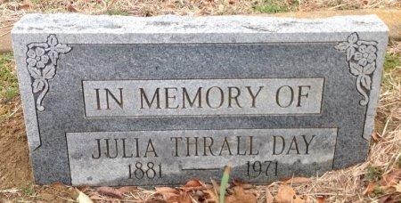 THRALL DAY, JULIA - Fannin County, Texas | JULIA THRALL DAY - Texas Gravestone Photos