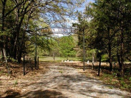*ENTRANCE & SIGN,  - Fannin County, Texas |  *ENTRANCE & SIGN - Texas Gravestone Photos
