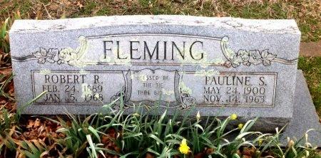 FLEMING, ROBERT R. - Fannin County, Texas | ROBERT R. FLEMING - Texas Gravestone Photos