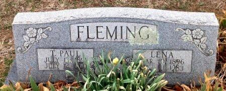 FLEMING, T. PAUL - Fannin County, Texas | T. PAUL FLEMING - Texas Gravestone Photos