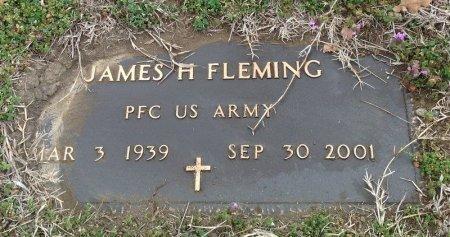 FLEMING (VETERAN), JAMES H  - Fannin County, Texas   JAMES H  FLEMING (VETERAN) - Texas Gravestone Photos