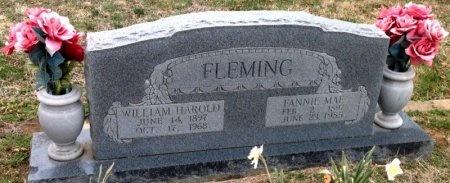 FLEMING, WILLIAM HAROLD - Fannin County, Texas | WILLIAM HAROLD FLEMING - Texas Gravestone Photos