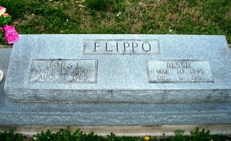 FLIPPO, JAMES L. - Fannin County, Texas | JAMES L. FLIPPO - Texas Gravestone Photos