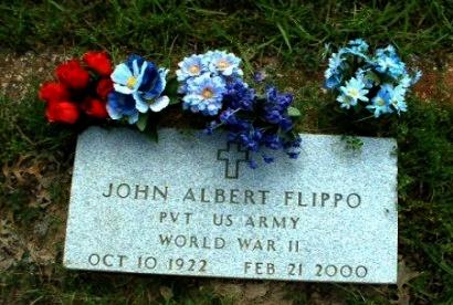 FLIPPO (VETERAN WWII), JOHN ALBERT  - Fannin County, Texas   JOHN ALBERT  FLIPPO (VETERAN WWII) - Texas Gravestone Photos