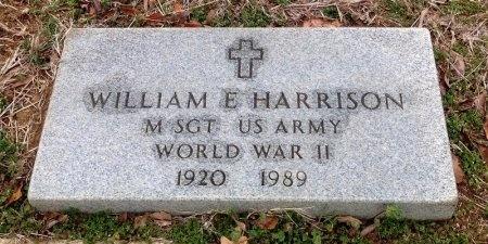 HARRISON (VETERAN WWII), WILLIAM E - Fannin County, Texas | WILLIAM E HARRISON (VETERAN WWII) - Texas Gravestone Photos