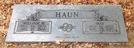 HAUN, WILLIAM M - Fannin County, Texas | WILLIAM M HAUN - Texas Gravestone Photos