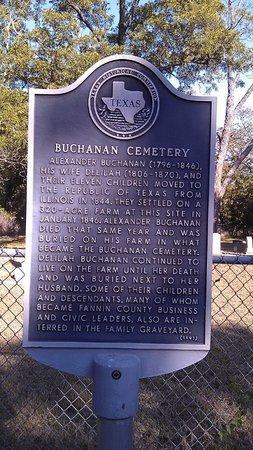 HISTORICAL, MARKER - Fannin County, Texas | MARKER HISTORICAL - Texas Gravestone Photos
