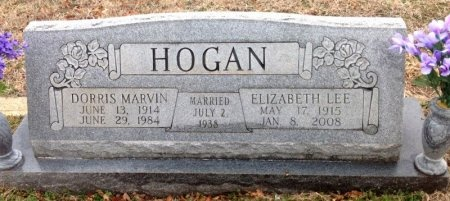 HOGAN, ELIZABETH LEE - Fannin County, Texas | ELIZABETH LEE HOGAN - Texas Gravestone Photos