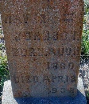 JOHNSON, MABEL MAVER - Fannin County, Texas | MABEL MAVER JOHNSON - Texas Gravestone Photos