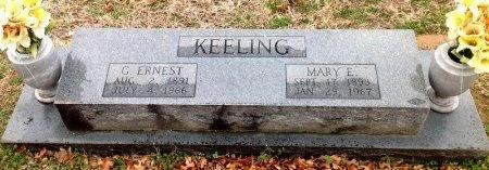 KEELING, MARY E. - Fannin County, Texas | MARY E. KEELING - Texas Gravestone Photos