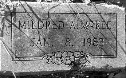 MCKEE, MILDRED A. - Fannin County, Texas | MILDRED A. MCKEE - Texas Gravestone Photos