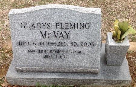 FLEMING MCVAY, GLADYS - Fannin County, Texas | GLADYS FLEMING MCVAY - Texas Gravestone Photos