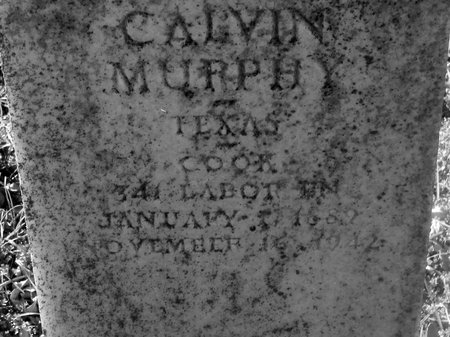 MURPHY (VETERAN WWII), CALVIN - Fannin County, Texas   CALVIN MURPHY (VETERAN WWII) - Texas Gravestone Photos