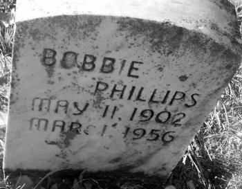 PHILLIPS, BOBBIE - Fannin County, Texas | BOBBIE PHILLIPS - Texas Gravestone Photos