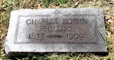 PHILLIPS, CHARLES EWIN - Fannin County, Texas | CHARLES EWIN PHILLIPS - Texas Gravestone Photos