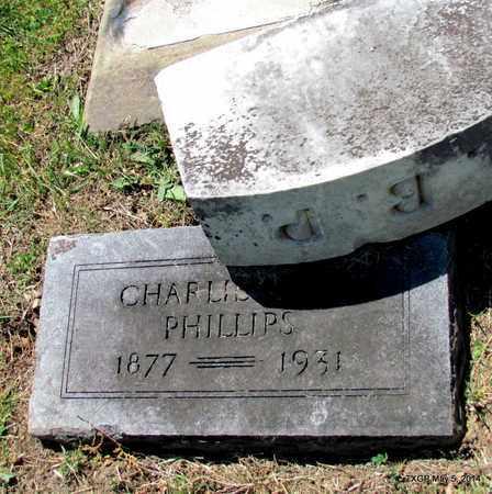 PHILLIPS, CHARLIE - Fannin County, Texas   CHARLIE PHILLIPS - Texas Gravestone Photos