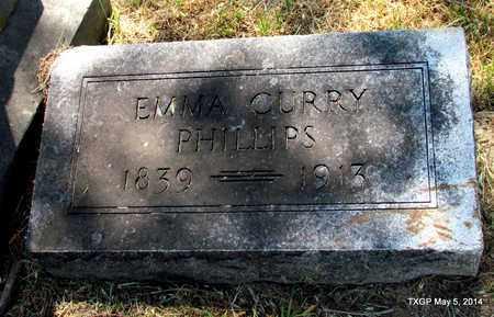 PHILLIPS, EMMA - Fannin County, Texas | EMMA PHILLIPS - Texas Gravestone Photos
