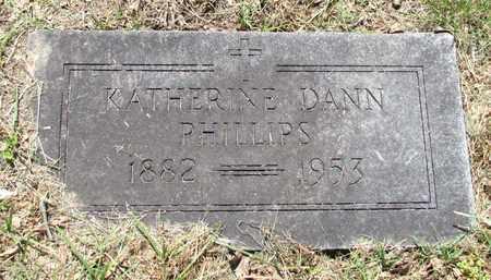 PHILLIPS, KATHERINE - Fannin County, Texas | KATHERINE PHILLIPS - Texas Gravestone Photos