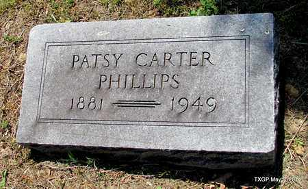PHILLIPS, PATSY - Fannin County, Texas | PATSY PHILLIPS - Texas Gravestone Photos