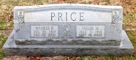 PRICE, MANESS FULLER - Fannin County, Texas | MANESS FULLER PRICE - Texas Gravestone Photos