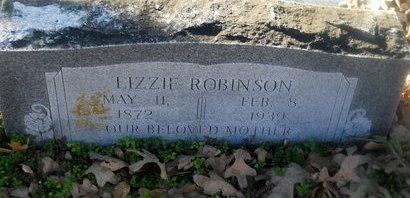 MCCOLLOUGH ROBINSON, LIZZIE - Fannin County, Texas | LIZZIE MCCOLLOUGH ROBINSON - Texas Gravestone Photos