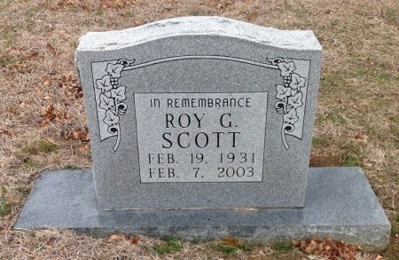 SCOTT, ROY G. - Fannin County, Texas | ROY G. SCOTT - Texas Gravestone Photos
