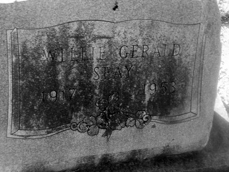 SEAY, WILLIE GERALD - Fannin County, Texas | WILLIE GERALD SEAY - Texas Gravestone Photos
