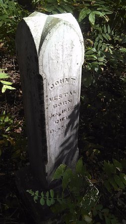 THOMAS VESTAL, JOHN - Fannin County, Texas   JOHN THOMAS VESTAL - Texas Gravestone Photos