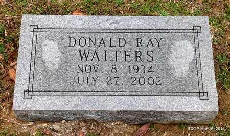 WALTERS, DONALD RAY - Fannin County, Texas | DONALD RAY WALTERS - Texas Gravestone Photos