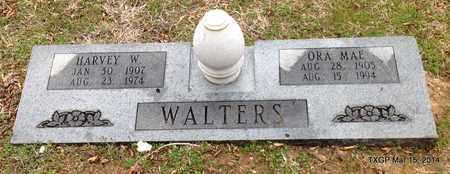 WALTERS, ORA MAE - Fannin County, Texas | ORA MAE WALTERS - Texas Gravestone Photos