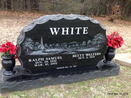 WHITE, RALPH SAMUEL - Fannin County, Texas   RALPH SAMUEL WHITE - Texas Gravestone Photos