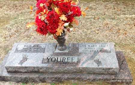 YOUREE, LOIS MARIE - Fannin County, Texas | LOIS MARIE YOUREE - Texas Gravestone Photos