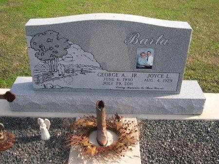 BARTA, JR., GEORGE A. - Fayette County, Texas | GEORGE A. BARTA, JR. - Texas Gravestone Photos