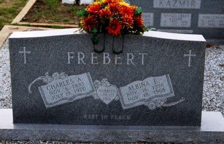 FREBERT, CHARLES A. - Fayette County, Texas | CHARLES A. FREBERT - Texas Gravestone Photos